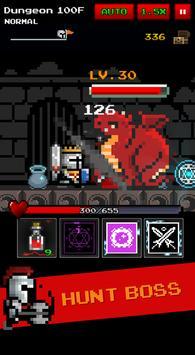 Dungeon n Pixel Hero(RetroRPG) apk screenshot