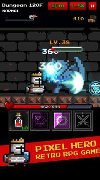 Dungeon n Pixel Hero(RetroRPG) poster