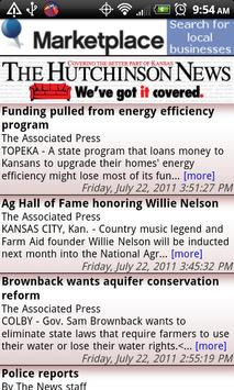 The Hutchinson News apk screenshot