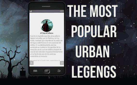 Urban Legends apk screenshot