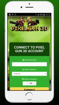 Gems & Coin for Pixel Gun 3d - Prank poster