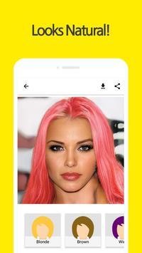Pixit - Hair Dyeing : Beauty,Camera,Filter screenshot 1