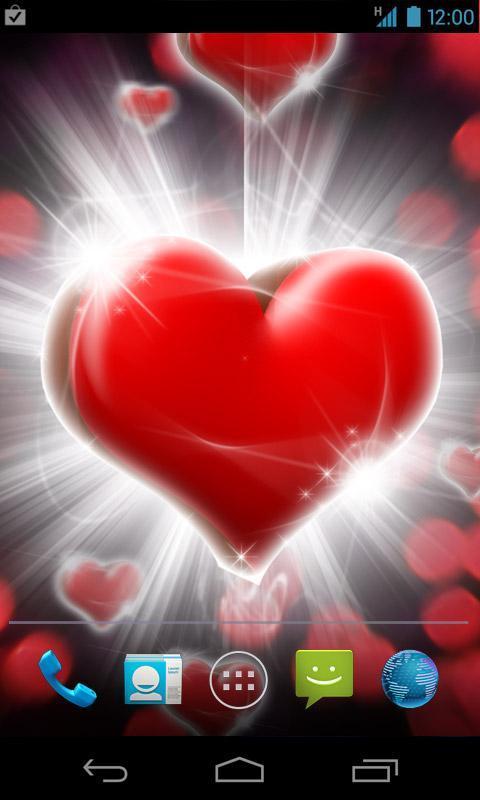 Love Hearts Live Wallpaper poster ...
