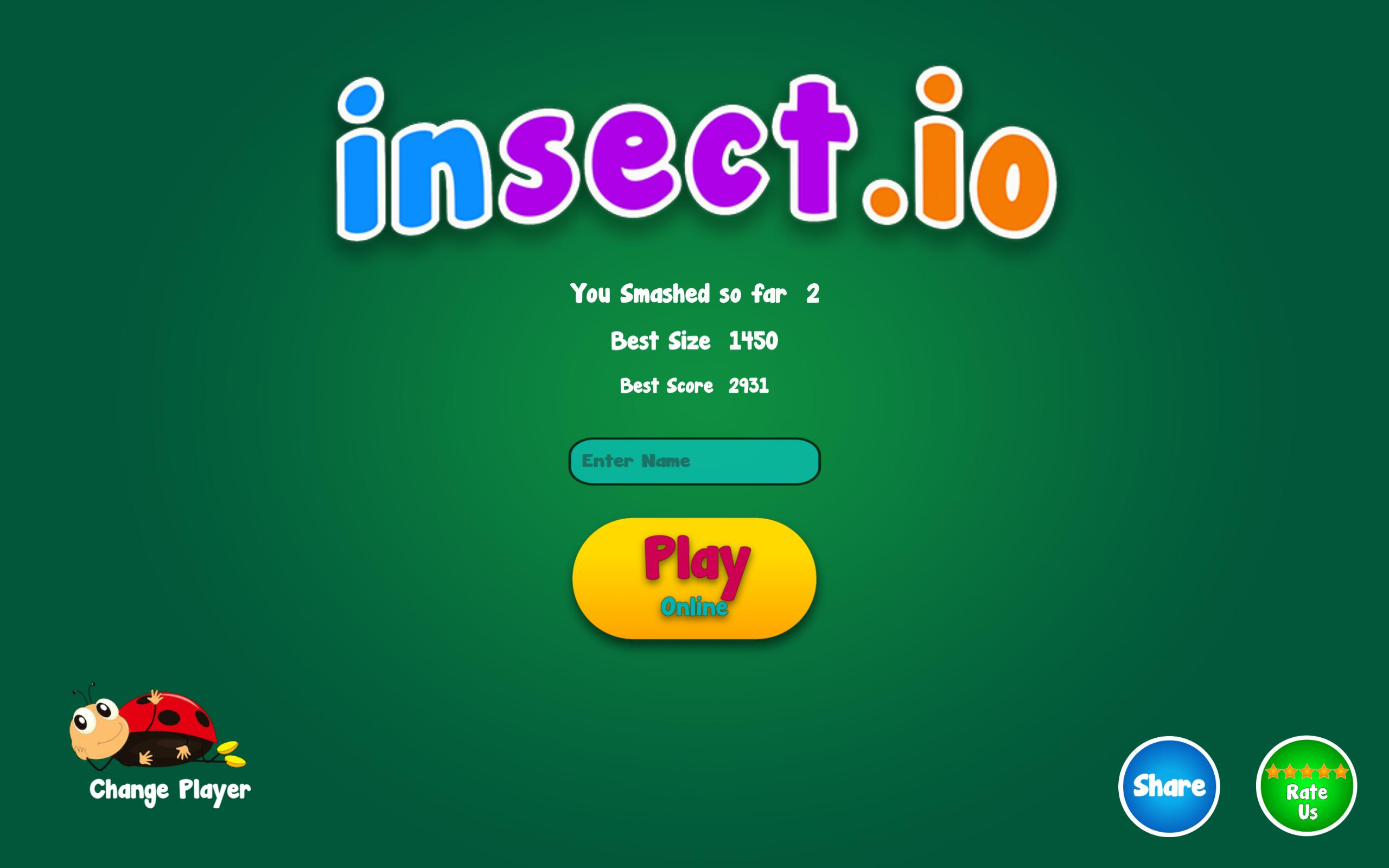 insect io - a slither io game for Android - APK Download