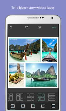 Pixlr apk imagem de tela