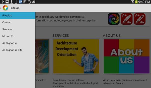 Pixtolab screenshot 1