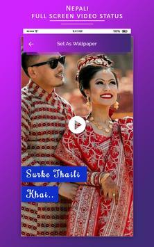 Full screen video status - Nepali Video Status screenshot 3