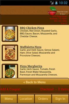 Pizza Cucina apk screenshot