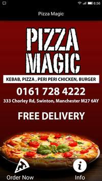 Pizza Magic, Swinton poster