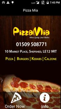 Pizza Mia, Shepshed poster