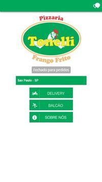 Pizzaria Tonelli Frango Frito poster