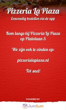 Pizzeria La Piaza screenshot 2