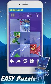pj puzzle mask's : super catboy monlight adventure screenshot 3