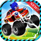 pj racing masks car icon
