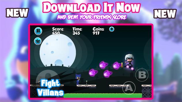 PJ Super Catboy Masks Adventure screenshot 2