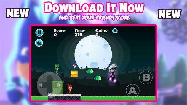 PJ Super Catboy Masks Adventure screenshot 7