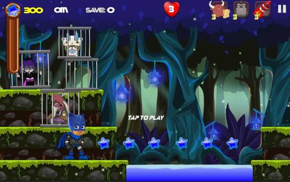 PJ heroes Masks : Nightmare screenshot 2