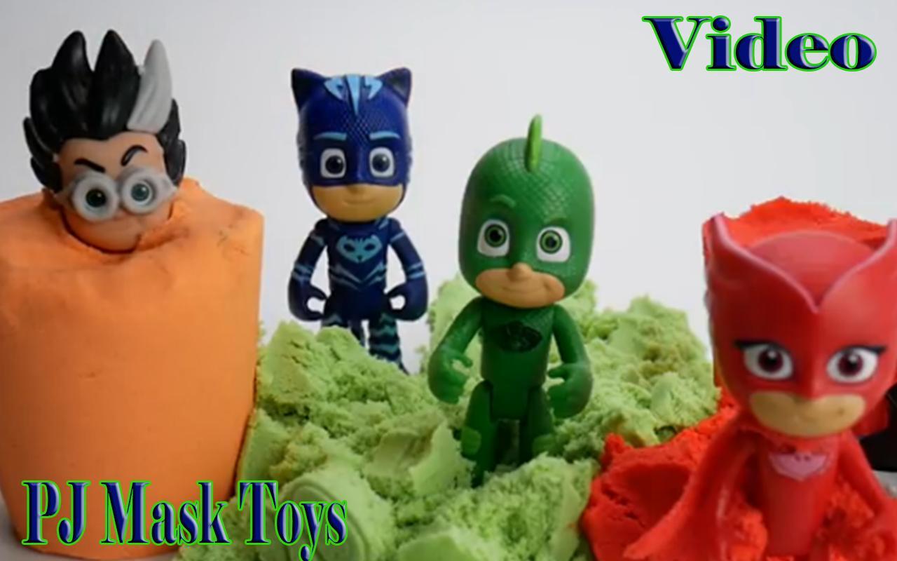 Pj mask toy videos