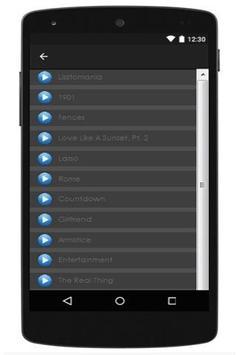 New Lyrics Phoenix apk screenshot