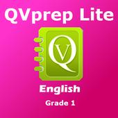 QVprep Lite English Grade 1 icon