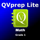 Free QVprep Lite Math Grade 1 icon