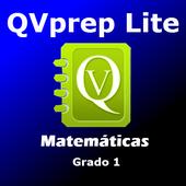 QVprep Lte Matemáticas Grado 1 icon