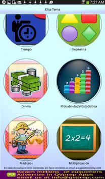 QVprep Lte Matemáticas Grado 1 screenshot 1