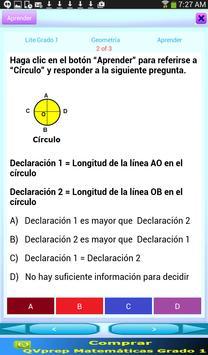 QVprep Lte Matemáticas Grado 1 screenshot 3
