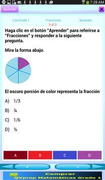 QVprep Lte Matemáticas Grado 1 screenshot 5