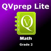 Free QVprep Lite Math Grade 2 icon