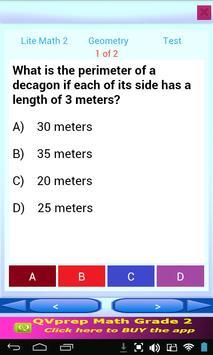 Free QVprep Lite Math Grade 2 screenshot 21