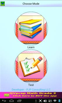 Free QVprep Lite Math Grade 2 screenshot 2