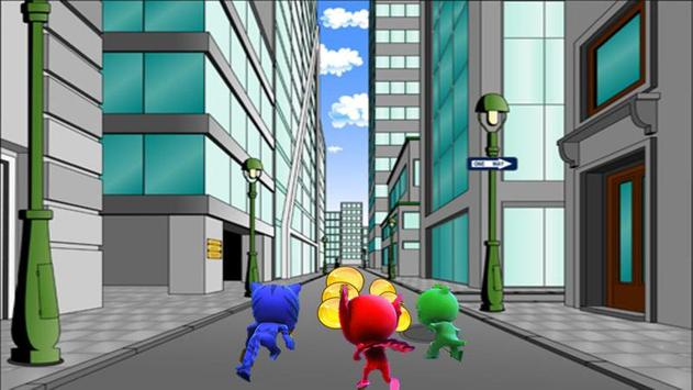 subway pj runner adventure amazing masks screenshot 1