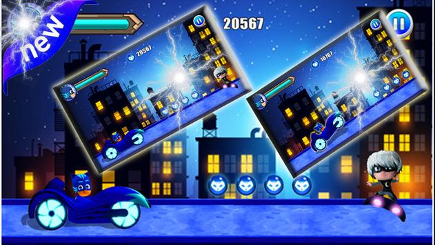 Pj Rush Mask Adventure screenshot 1