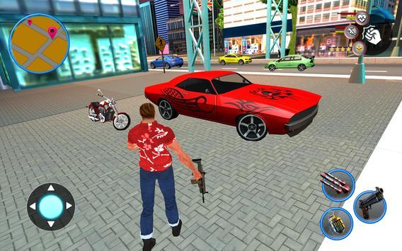 Gangster Miami New Crime Mafia City Simulator poster