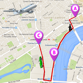 GPS Route Tracker : Maps & Navigations icon