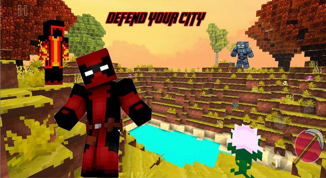 Superheroes in attack craft screenshot 3