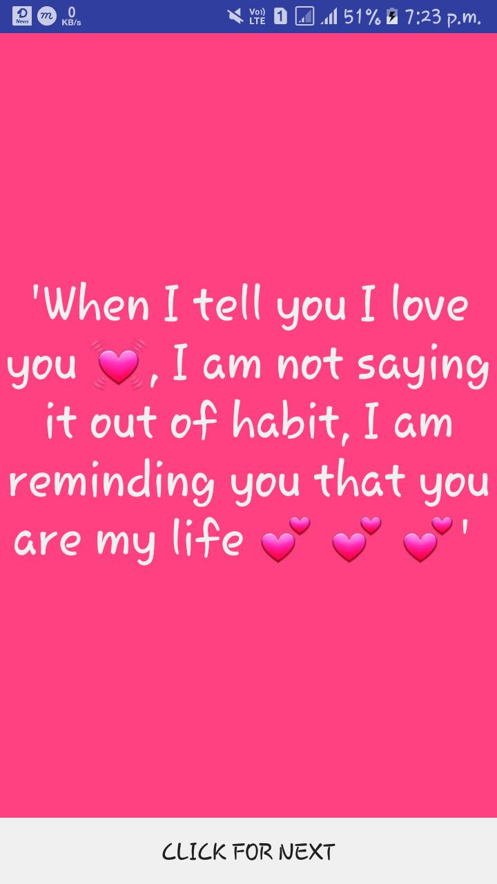 One Line Love Quotes for Android - APK Download