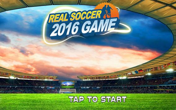 Real Soccer Football 2016 Game poster
