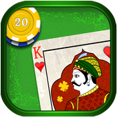 Great Indian Maharaj Card Game icon
