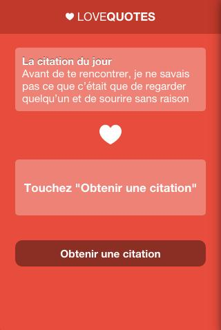Phrase D Amour Love Quotes For Android Apk Download