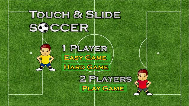 Touch Slide Soccer - Kids Game apk screenshot