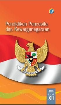 Buku PKn Kelas 12 Kurikulum 2013 poster