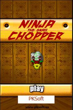 Ninja the Snail Chopper poster