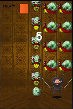 Ninja the Snail Chopper apk screenshot