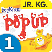 PopKorn Popup Series JR. KG. Term-1 (Eng. Med.) icon