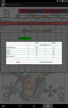 Klaverjas score screenshot 6