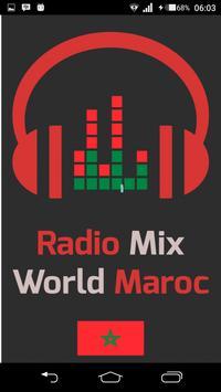 Radio Mix World Maroc poster