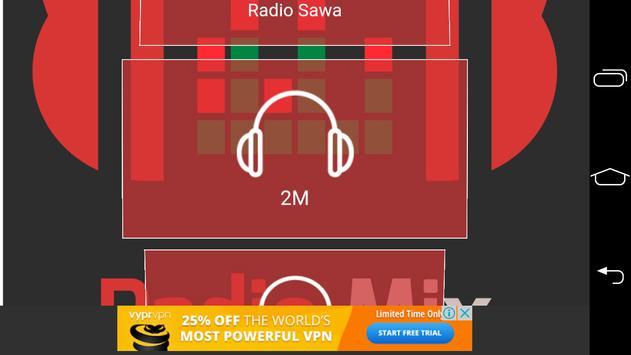 Radio Mix World Maroc apk screenshot