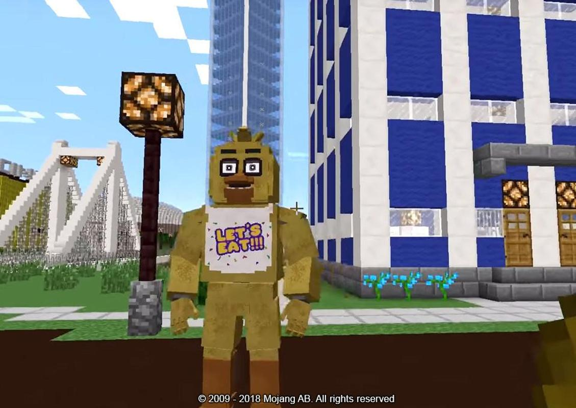 FNAF Welt Für MinecraftSkins Für Android APK Herunterladen - Skins fur minecraft machen